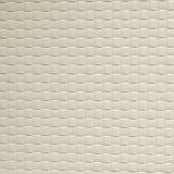 合皮 市松模様 生地 暖白色(アイボリーホワイト)