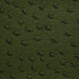 合皮 生地 オーストリッチ 深緑色(ダークグリーン)