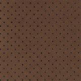 ウルトラスエードRX パンチング 焦茶色(ダークブラウン)