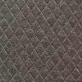 合皮 生地 ダイヤ柄 色ムラタイプ 灰色(グレー)