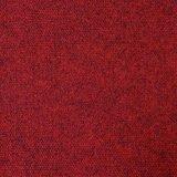 床材 生地 難燃 パンチカーペット 臙脂色(ダークレッド)