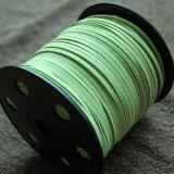 合皮 紐 90m・黄緑色(ライトグリーン)